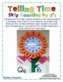 Skip Counting Numbers for a Clock