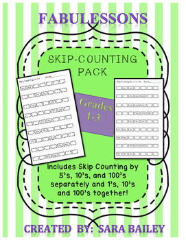 Skip-Counting Pack