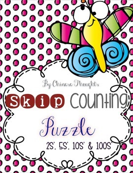 Skip Counting Puzzle (by 2s', 5s', 10s' and 100s')