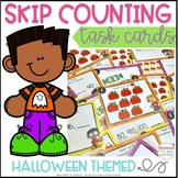 Skip Counting Task Cards (up to 120) - Halloween Theme