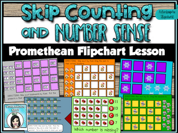 Skip Counting and Number Sense Promethean ActivInspire Fli