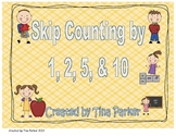 Skip Counting by 1, 2, 5, & 10 Activities