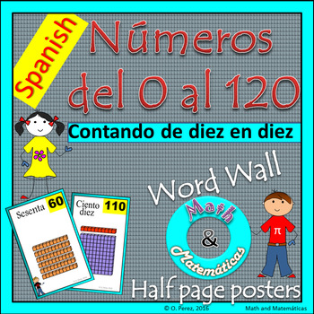 Skip-Counting by 10s Posters -Counting to 120- Base Ten Re