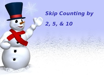 Skip Counting by 2, 5, and 10 PowerPoint