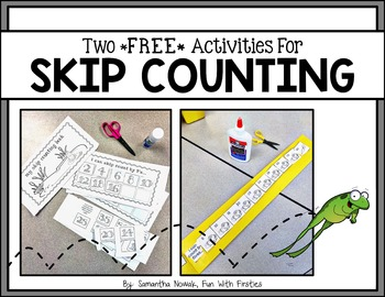 FREE Skip Counting Activities