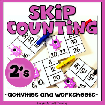 Math Centers - Skip Counting by 2s