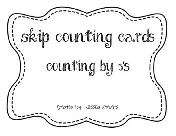 Skip Counting by 5's