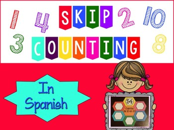 Skip counting in Spanish