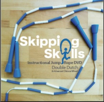 Skipping Skills Instructional Jump Rope DVD Double Dutch