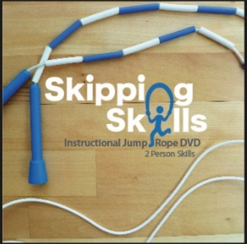 Skipping Skills Instructional Jump Rope DVD Two Person Skills