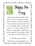 Skippy The Frog Decoding Strategy - Poster and Activity Set