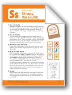 Skippy, the Skunk