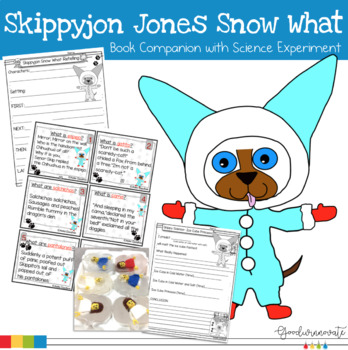 Skippyjon Jones Snow What Freebie