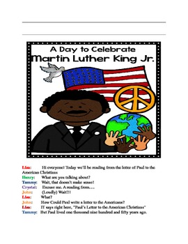 Skit: Martin Luther King, Jr.