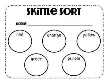 Skittles Color Sort