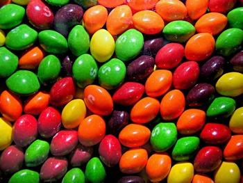 Skittles Fraction Chart