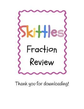 Skittles Fraction Review
