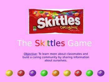 Skittles Icebreaker Game