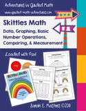 """Skittles Math - """"Taste the Rainbow"""" Skittles Math Activity"""