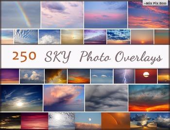 Sky Photo Overlays,Clouds photoshop, Sunset, Sky texture,
