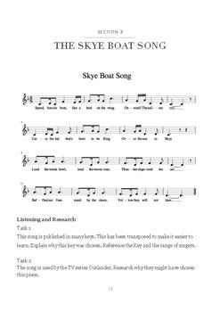 Music Investigation: Skye Boat Song