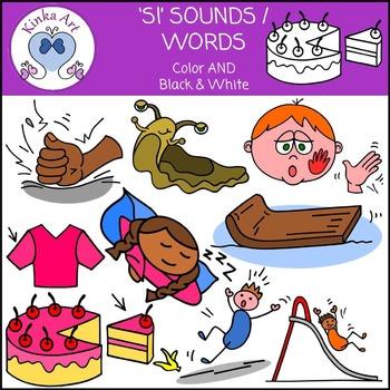 Sl Sounds / Words: Beginning Sounds Clip Art