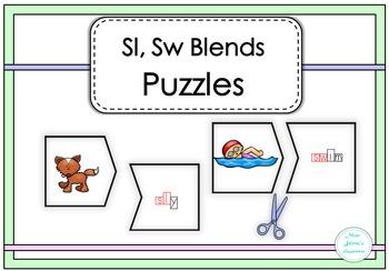 Sl, Sw Blends Puzzles