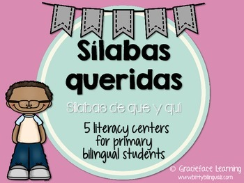 Sílabas queridas – Spanish Phonics Activities for que y qui