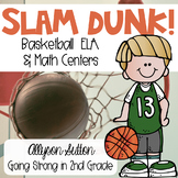 Slam Dunk! March Madness Basketball Centers 2nd Grade