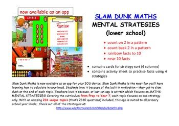 FREE Maths Mental Strategies: Sort number patterns, rainbo