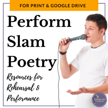 Slam Poetry Performance Resources for Middle School and Hi