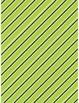 Slanted stripes borders