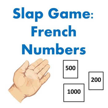 Slap Game - French Numbers