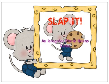 Slap It! - An Irregular plural nouns game