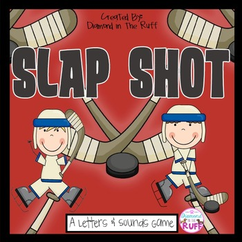 A Letters & Sounds Game: Slap Shot