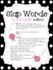 Slap Words (Word Family Edition)