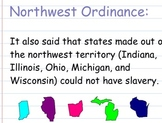 Slavery Legislation in West- Smartboard