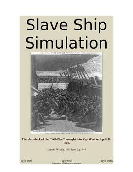 Slavery Simulation - High School Level