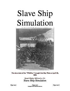 Slavery Simulation