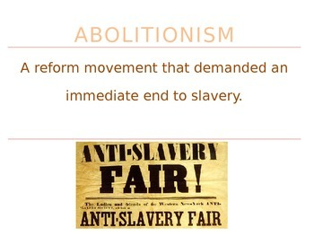 Slavery in America - Civil War PowerPoint Presentation