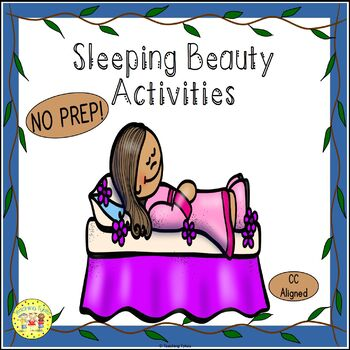 Sleeping Beauty Fairy Tales Worksheets Activities Games Pr