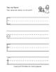 Sleeping Beauty Writing Practice A-Z