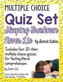 Sleeping Freshmen Never Lie Quiz Set