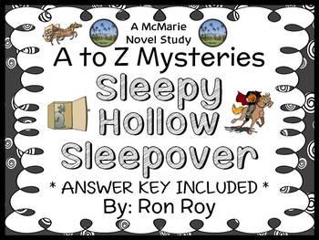 Sleepy Hollow Sleepover : A to Z Mysteries (Ron Roy) Novel