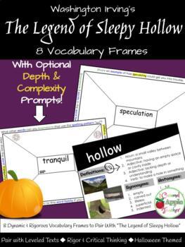 Sleepy Hollow Unit Pre-Reading Vocabulary Lesson