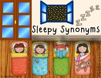 Sleepy Synonyms