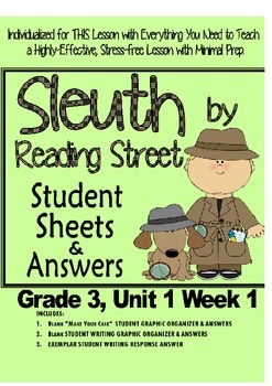 Sleuth Reading Street, Gr. 3 Unit 1 Wk 1, When Charlie McB