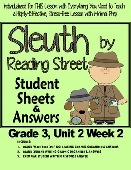 Sleuth Reading Street, Gr. 3 Unit 2 Wk 2, I Wanna Iguana