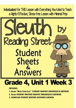 Sleuth, Reading Street, Gr. 4 Unit 1 Wk 3, On the Banks of
