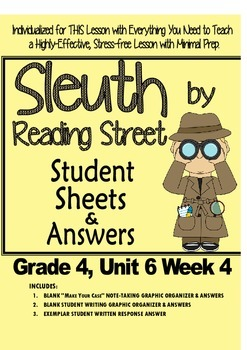 Sleuth Reading Street, Gr. 4 Unit 6 Wk 4, A Gift From the Heart